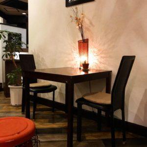 テーブル席4